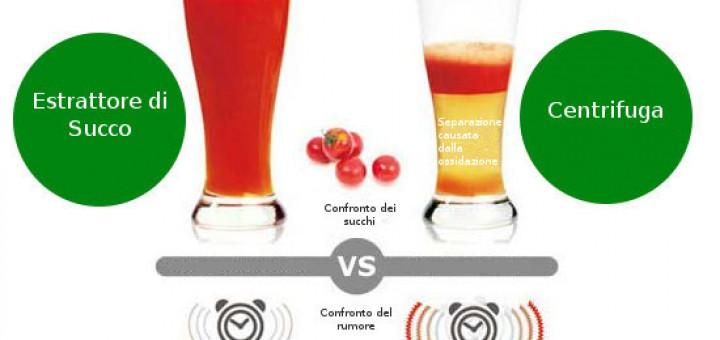 centrifuga estrattore differenze