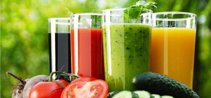 centrifugati ed estratti di frutta e verdura